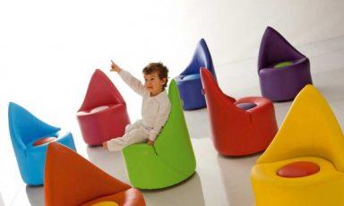 Italiaanse fun design meubels voor de kids