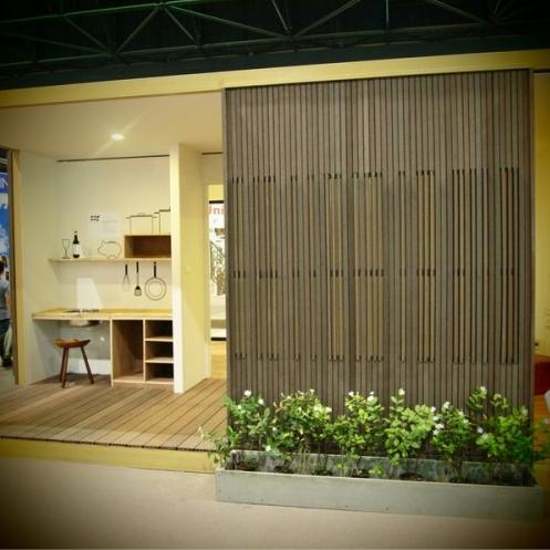 Geprefabriceerde woning patio duurzame materialen Site-Specific