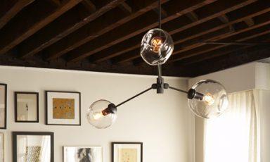 Nog geen genoeg van bubbels? De lamp globe-bubble van Studio Lindsey Adelman