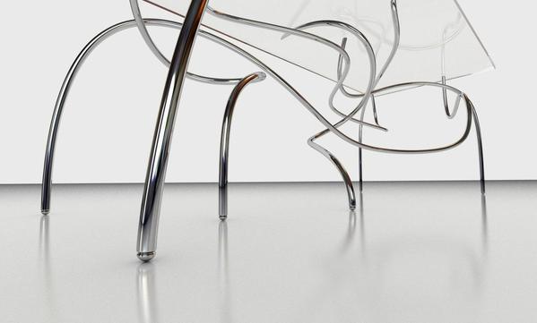 Poten van Continuum spagetti tafel van Jason Phillips