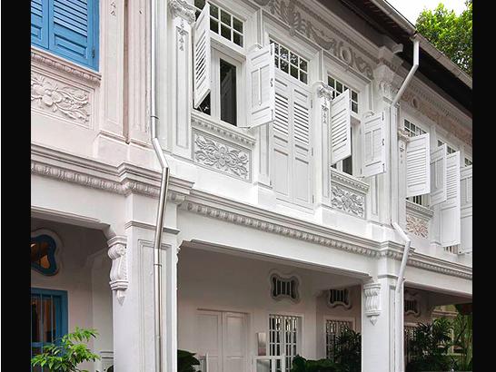 Modern minimalistisch design in singapore gimmii shop magazine voor dutch design - Exterieur kleur eigentijds huis ...