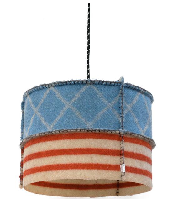 Woollight lamp Poef