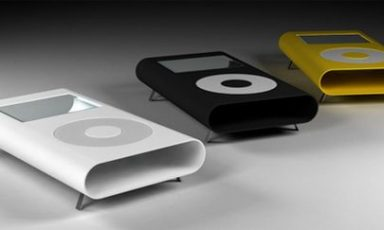 Coole klassieke iPod tafel