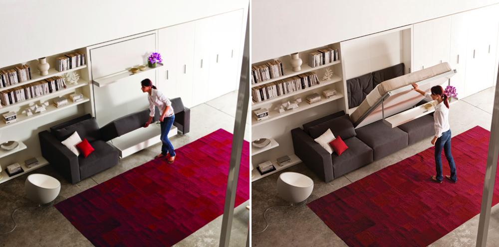 Multifunctioneel meubel voor studio 39 s en studentenkamers gimmii dutch design - Meubels studio ...