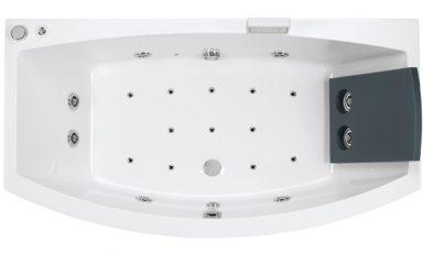 Simplistisch en esthetisch vormgegeven badkuip