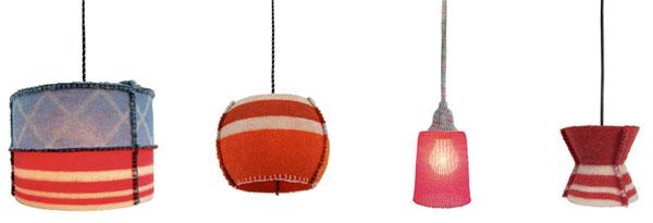 Oude Slaapkamer Lampen : Wollen lampen van Woollight Gimmii Shop ...