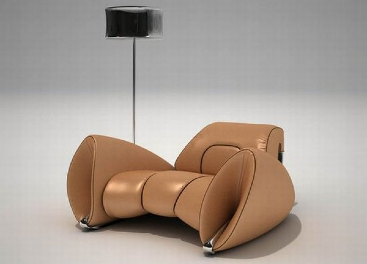 R 15 een aerodynamische luxe stoel gimmii dutch design for Dutch design stoel