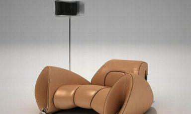 R-15, een aerodynamische luxe stoel