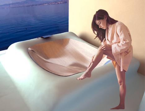 Wavflow badkamer elegant golvende lijnen
