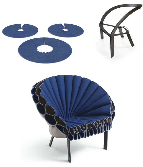 Cappellini Peacock onderdelen
