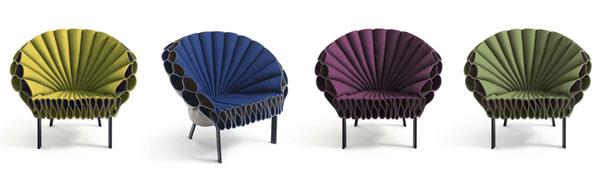 Cappellini Peacock fauteuil