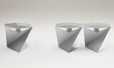 Origami bijzettafels van de Sede