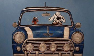 Honden in auto's en chagrijnige pinguins