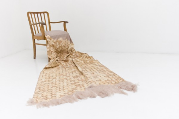 Houten stof Elisa Strozyk details stof wooden textiles
