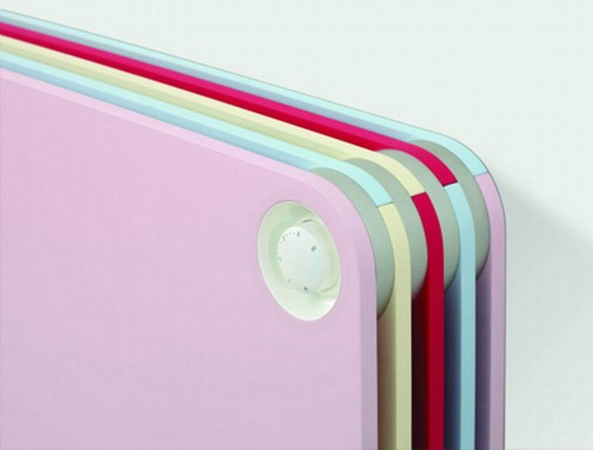 Verwarmende kleuren radiator voor kids