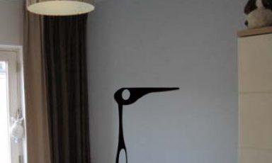 Vreemde vogels muurstickers