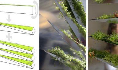 Planten spiegel laat je huis ademen