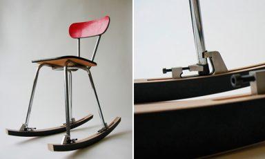 Maak van je favoriete stoel een schommelstoel