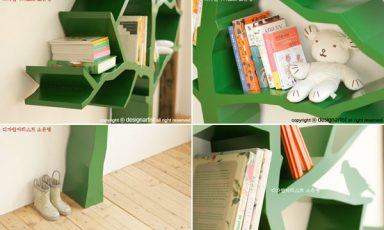 Boom van een boekenkast!