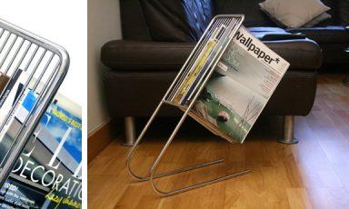 Zwevend tijdschriftenrek