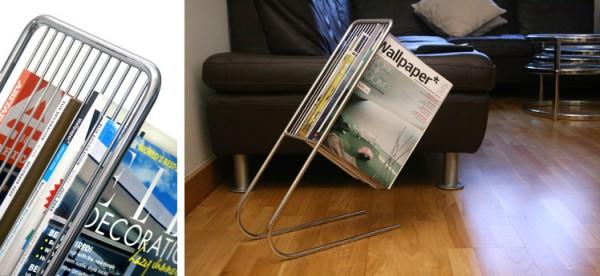zwevend tijdschriftenrek 0