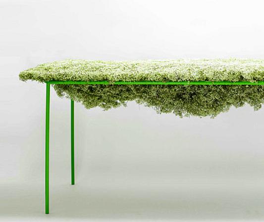Bloementafel Harvest Asif Kahn natuur in je interieur meubels