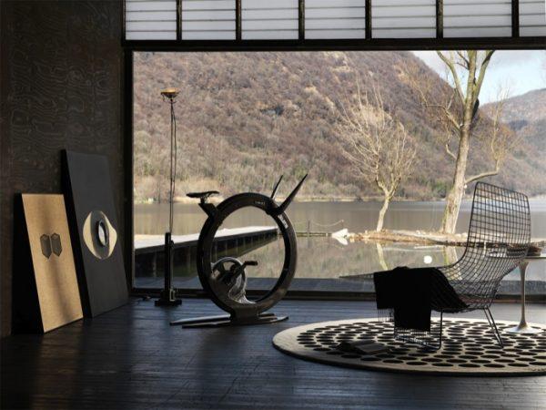 De Ciclotte is ontworpen door Luca Schieppati uit Milan en wordt geproduceerd door Lamiflex.