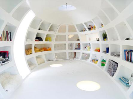 Gastenhuis interieur dmvA architecten Belgie