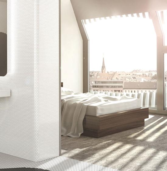 JOH 3 slaapkamer en uitzicht over Berlijn