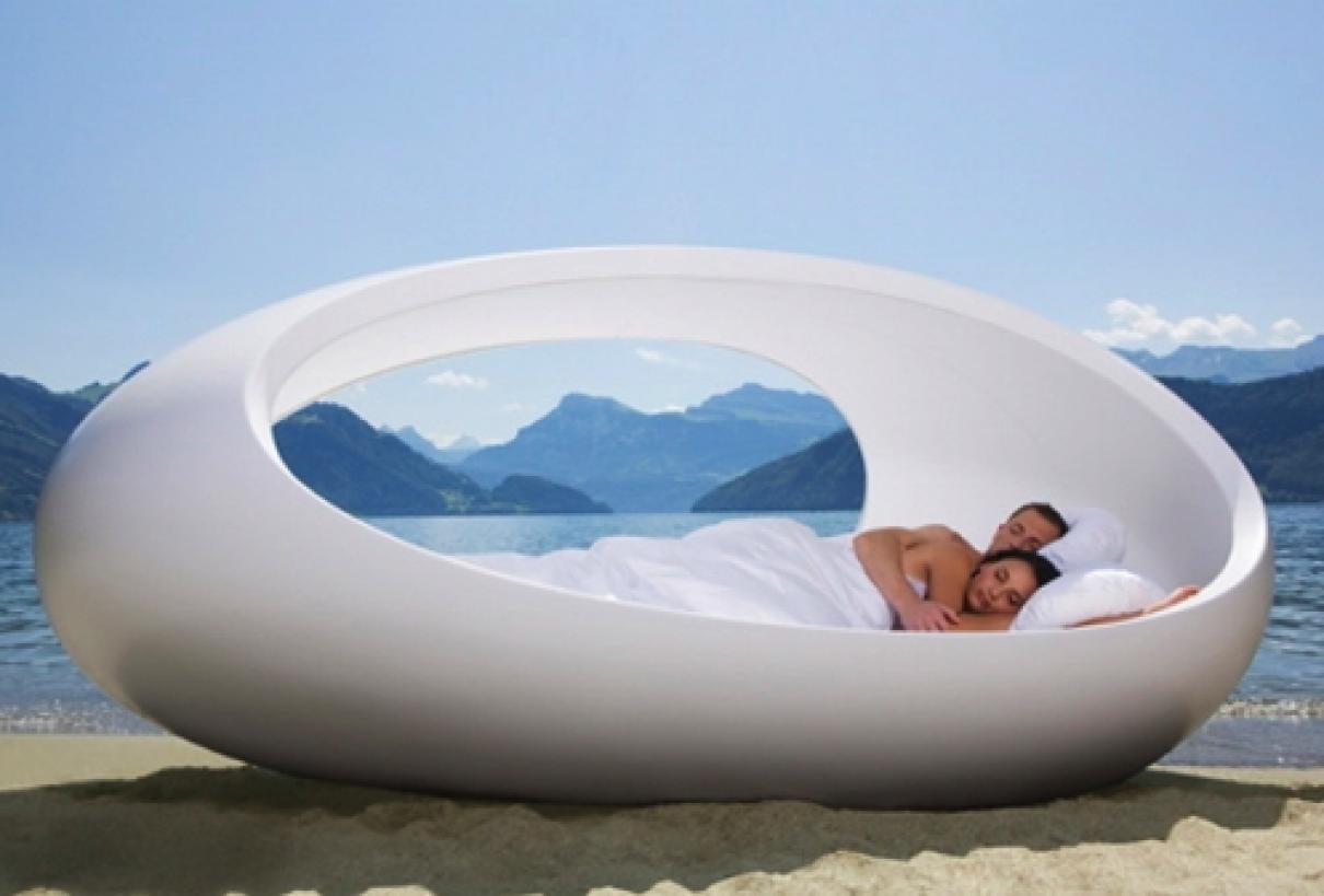 Slapen in een ei