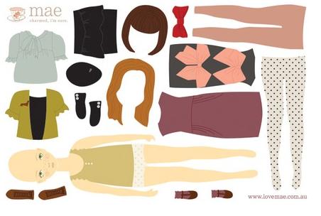 Muurstickers meiden mode wasbaar makkelijk opbrengen en afhalen