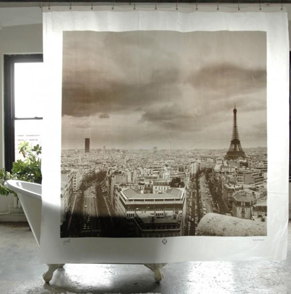 Parijs douchegordijn