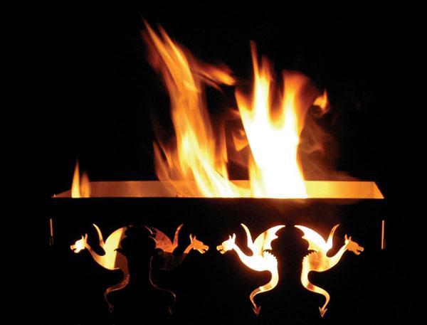 Draken vuurkorf van MAANDAG meubels
