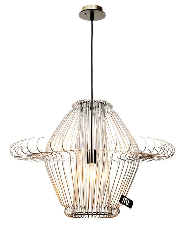 Hanglamp 'light MI' van klerenhangers