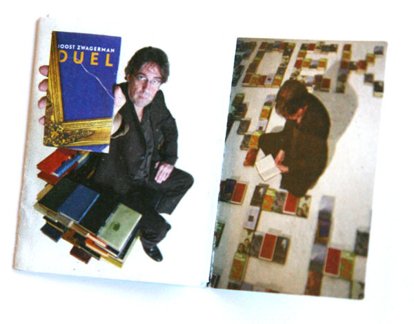 Richard Hutten postzegelboekje