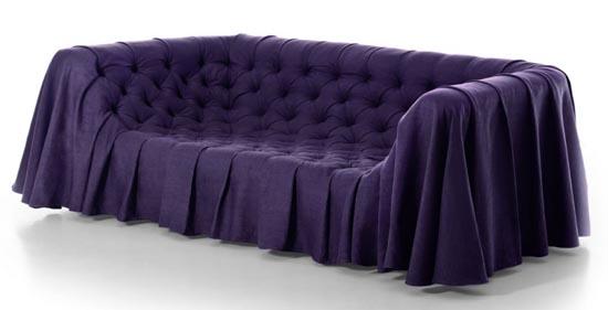 Bohemien sofa van Busnelli