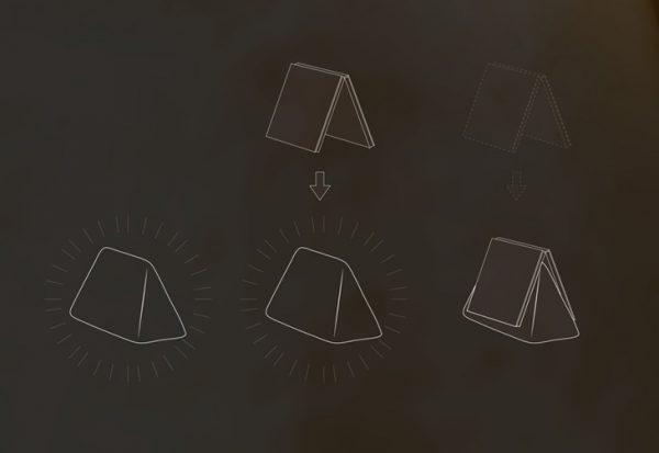 De LED leeslamp Night Light bookmark van ontwerper Damjan Stankovic is ook een boekenlegger