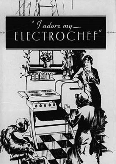 Electrochef retro vintage keuken