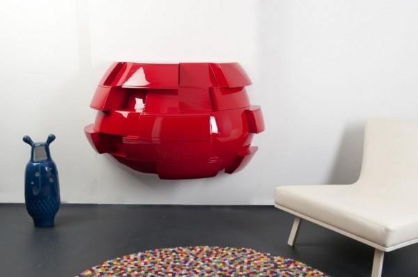 Het Belly Cabinet van ontwerper Laurens van Wieringen 2