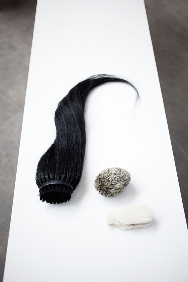 Hair Brush van Lea Haefliger (Design Academy)