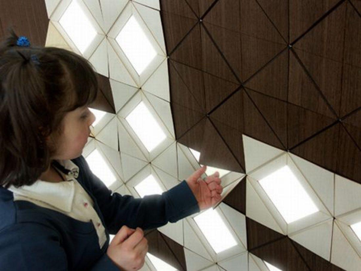 Verlichting uit de muur