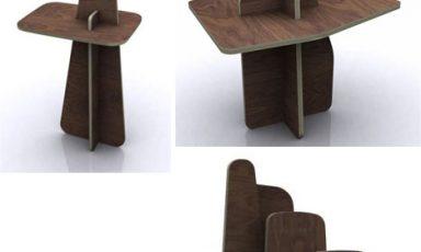 Multifunctioneel puzzel meubel