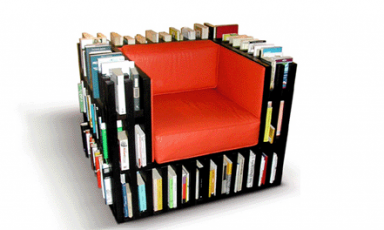 Relaxen in je boekenkast