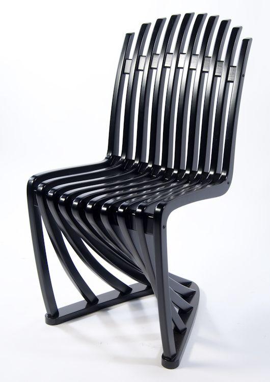 Stripe Chair van ontwerper Joachim King