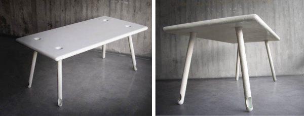 aTable van ontwerper Beatus Kopp