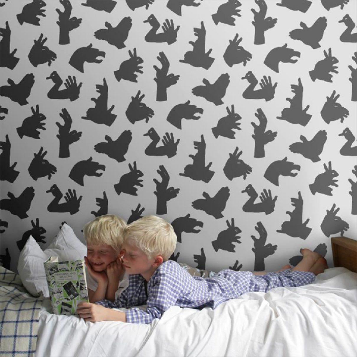 Behang voor de jongenskamer gimmii dutch design - Behang voor trappenhuis ...
