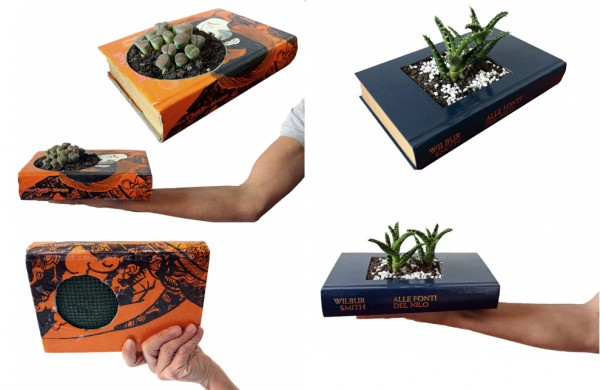 Van leesboek tot plantenbak met de boekenplantenbak van Gartenkultur