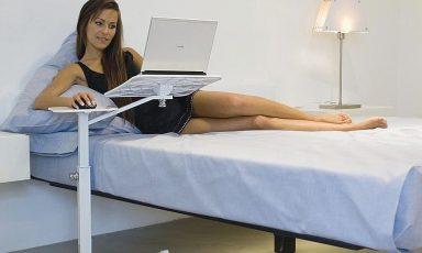 Ergonomisch verantwoord werken vanuit bed