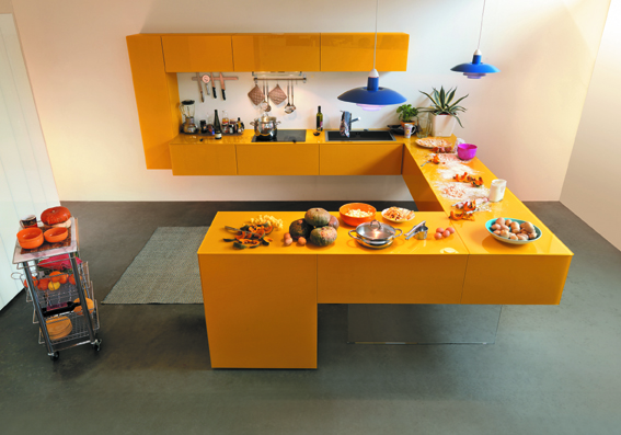 Keuken Kleur Muur : Keukens bekennen kleur Gimmii Shop & Magazine voor Dutch Design