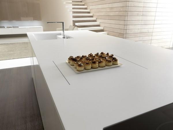 Het keukenconcept Linea Vogue van keukenfabrikant Comprex